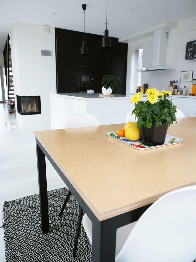 Tuotesuunnittelu: vaneripöytä